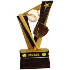 "6 1/2"" Baseball Trophybands Resin"